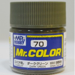 Mr.Hobby Mr.Color C-70 3/4 Flat Dark Green