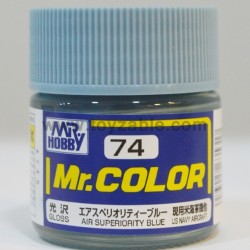 Mr.Hobby Mr.Color C-74 Gloss Air Superiority Blue