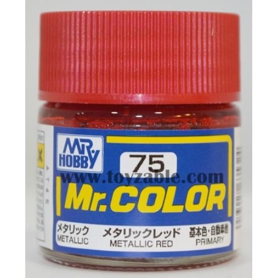 Mr.Hobby Mr.Color C-75 Metallic Red