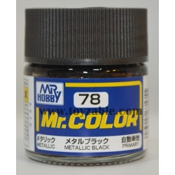 Mr.Hobby Mr.Color C-78 Metallic Black