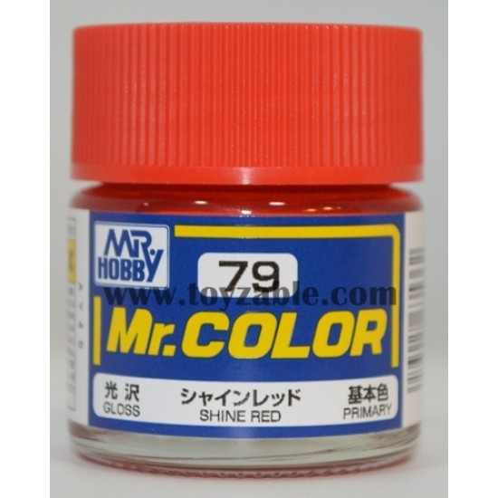 Mr.Hobby Mr.Color C-79 Gloss Shine Red