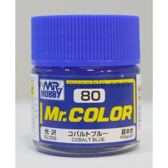Mr.Hobby Mr.Color C-80 Gloss Cobalt Blue