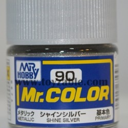 Mr.Hobby Mr.Color C-90 Metallic Shine Silver