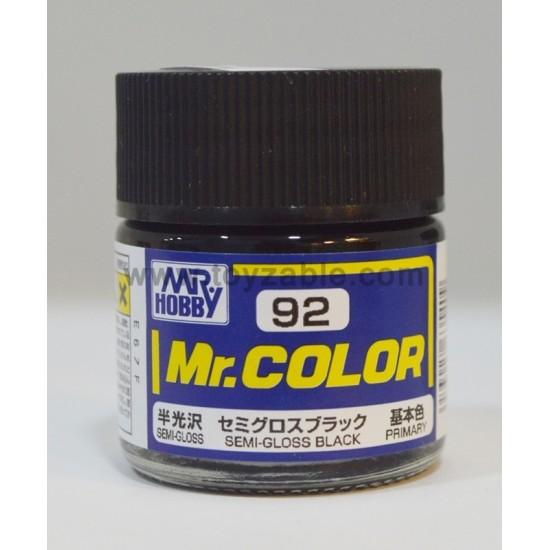 Mr.Hobby Mr.Color C-92 Semi Gloss Black