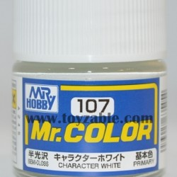 Mr.Hobby Mr.Color C-107 Semi Gloss Character White