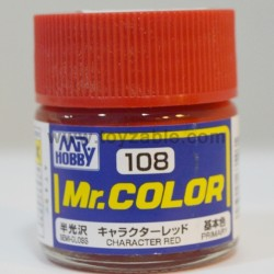 Mr.Hobby Mr.Color C-108 Semi Gloss Character Red
