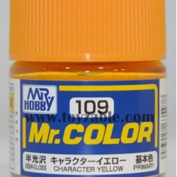 Mr.Hobby Mr.Color C-109 Semi Gloss Character Yellow