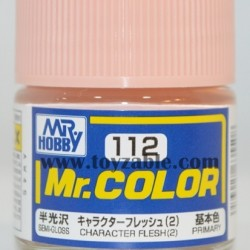 Mr.Hobby Mr.Color C-112 Semi Gloss Character Flesh