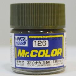 Mr.Hobby Mr.Color C-126 Semi Gloss Cockpit Color (Mitsubishi)