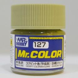 Mr.Hobby Mr.Color C-127 Semi Gloss Cockpit Color (Nakajima)