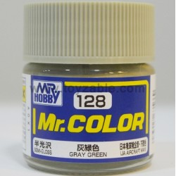 Mr.Hobby Mr.Color C-128 Semi Gloss Gray Green