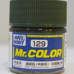 Mr.Hobby Mr.Color C-129 Semi Gloss Dark Green (Nakajima)