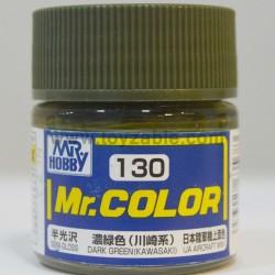 Mr.Hobby Mr.Color C-130 Semi Gloss Dark Green (Kawasaki)