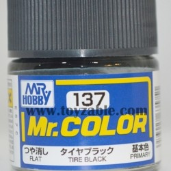 Mr.Hobby Mr.Color C-137 Flat Tire Black