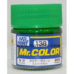 Mr.Hobby Mr.Color C-138 Gloss Clear Green