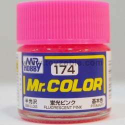 Mr.Hobby Mr.Color C-174 Semi Gloss Fluorescent Pink