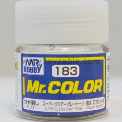 Mr.Hobby Mr.Color C-183 Flat Super Clear Gray Tone