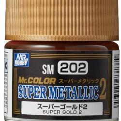 Mr.Hobby Mr.Color SM202 Super Metallic 2 Super Gold 2