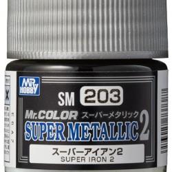 Mr.Hobby Mr.Color SM203 Super Metallic 2 Super Iron 2