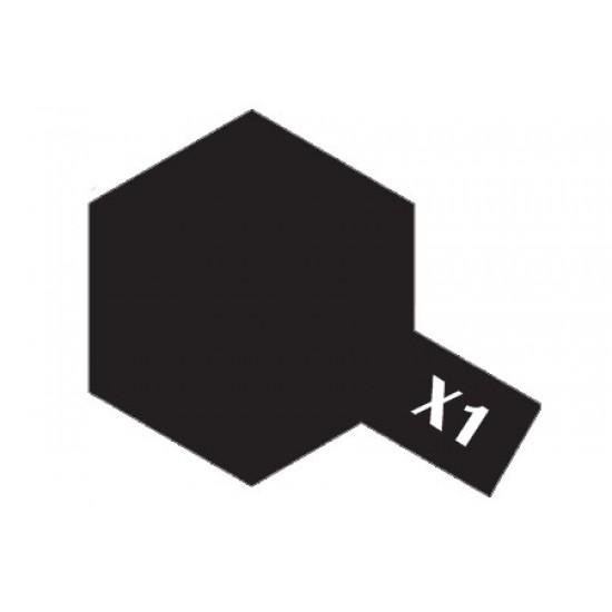 Tamiya Acrylic Paint X-1 Black