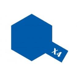 Tamiya Acrylic Paint X-4 Blue