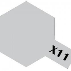 Tamiya Acrylic Paint X-11 Chrome Silver