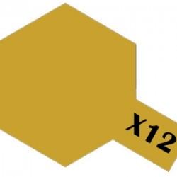 Tamiya Acrylic Paint X-12 Gold Leaf