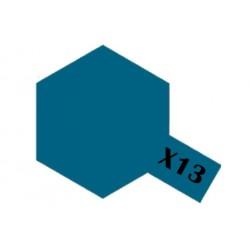 Tamiya Acrylic Paint X-13 Metallic Blue