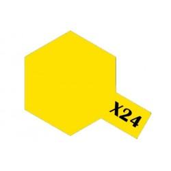 Tamiya Acrylic Paint X-24 Clear Yellow