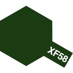 Tamiya Acrylic Paint XF-58 Olive Green