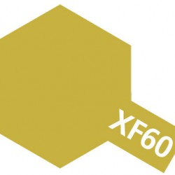 Tamiya Acrylic Paint XF-60 Dark Yellow