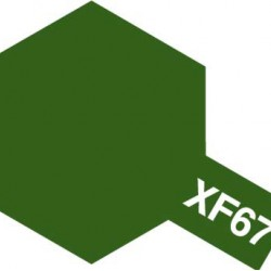 Tamiya Acrylic Paint XF-67 Nato Green
