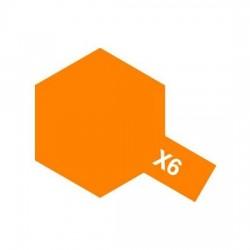 Tamiya Enamel Paint X-6 Orange
