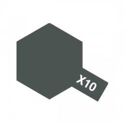 Tamiya Enamel Paint X-10 Gun Metal