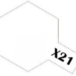 Tamiya Enamel Paint X-21 Flat Base
