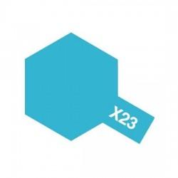Tamiya Enamel Paint X-23 Clear Blue