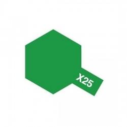 Tamiya Enamel Paint X-25 Clear Green