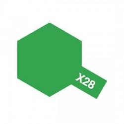 Tamiya Enamel Paint X-28 Clear Green