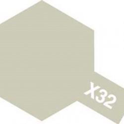 Tamiya Enamel Paint X-32 Titanium Silver