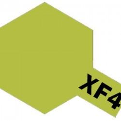 Tamiya Enamel Paint XF-4 Yellow Green