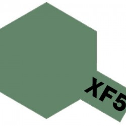 Tamiya Enamel Paint XF-5 Flat Green