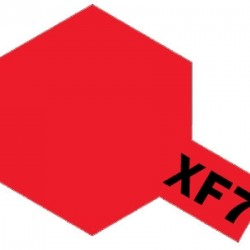 Tamiya Enamel Paint XF-7 Flat Red