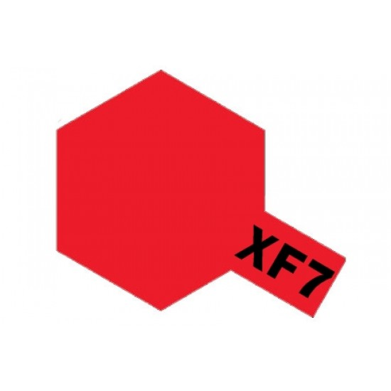 Tamiya Enamel Paint XF-7 Flat Red
