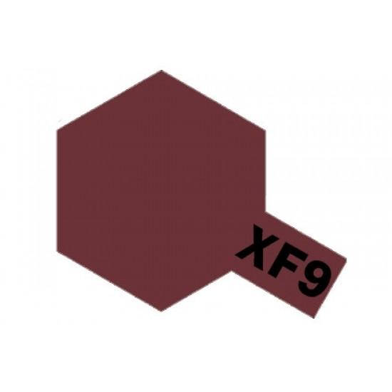 Tamiya Enamel Paint XF-9 Hull Red