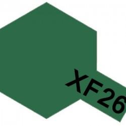Tamiya Enamel Paint XF-26 Deep Green