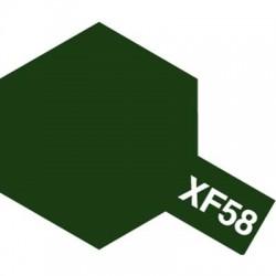 Tamiya Enamel Paint XF-58 Olive Green