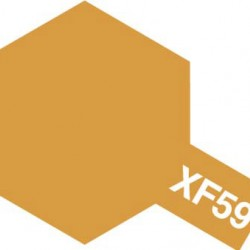 Tamiya Enamel Paint XF-59 Desert Yellow