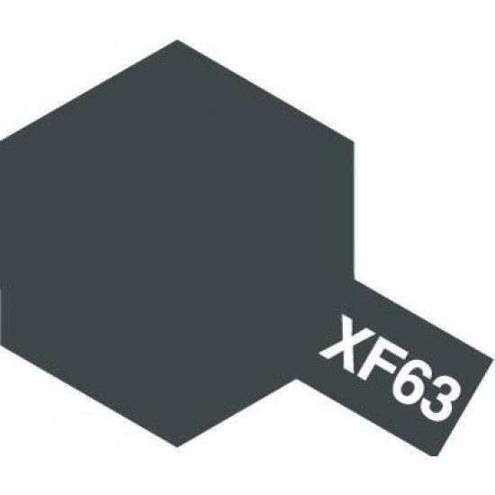 Tamiya Enamel Paint XF-63 German Grey