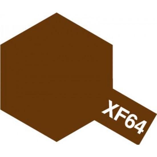 Tamiya Enamel Paint XF-64 Red Brown