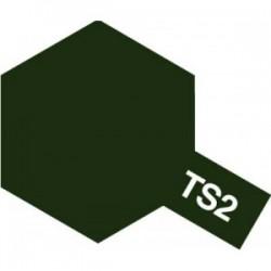 Tamiya Color Spray Paint - TS-02 Dark Green